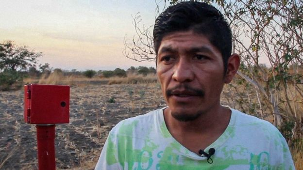 Samir Flores Soberanes was gunned down on his doorstep in Amilcingo, south of Mexico City, on 20 February 2019. Photo: Ana Ramos / Pie de Página