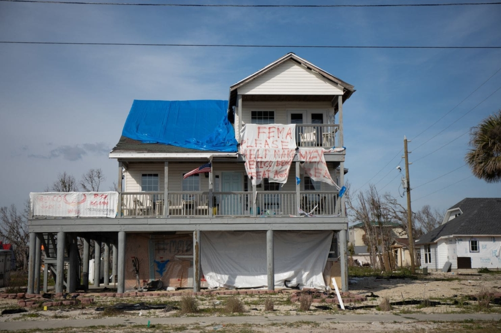 Survivors of Hurricane Michael in the Florida Panhandle fear they