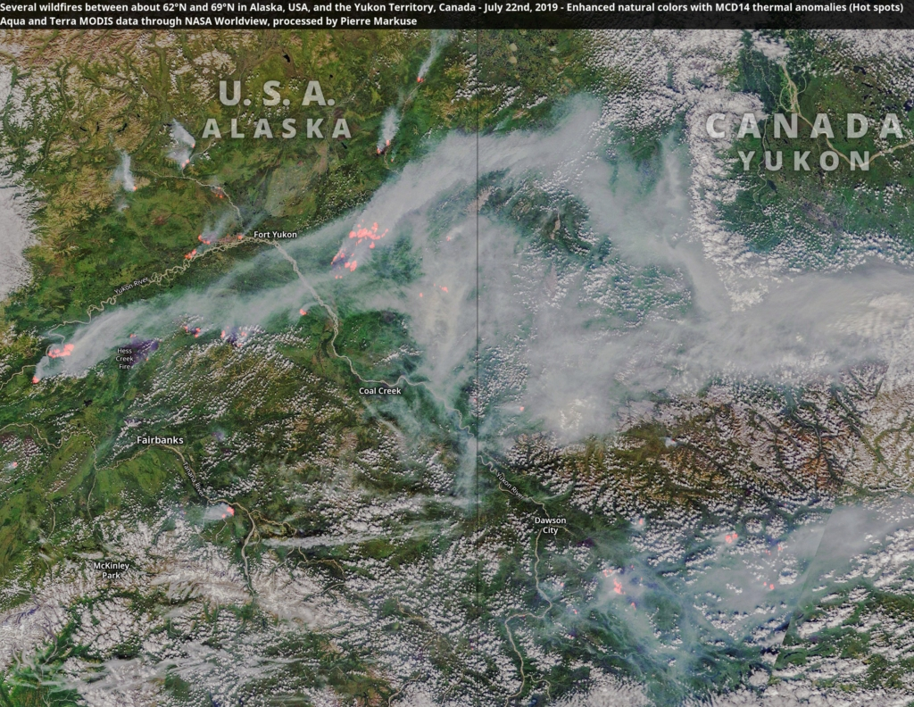 More Than 100 Arctic Wildfires Burn In Worst-ever Fire