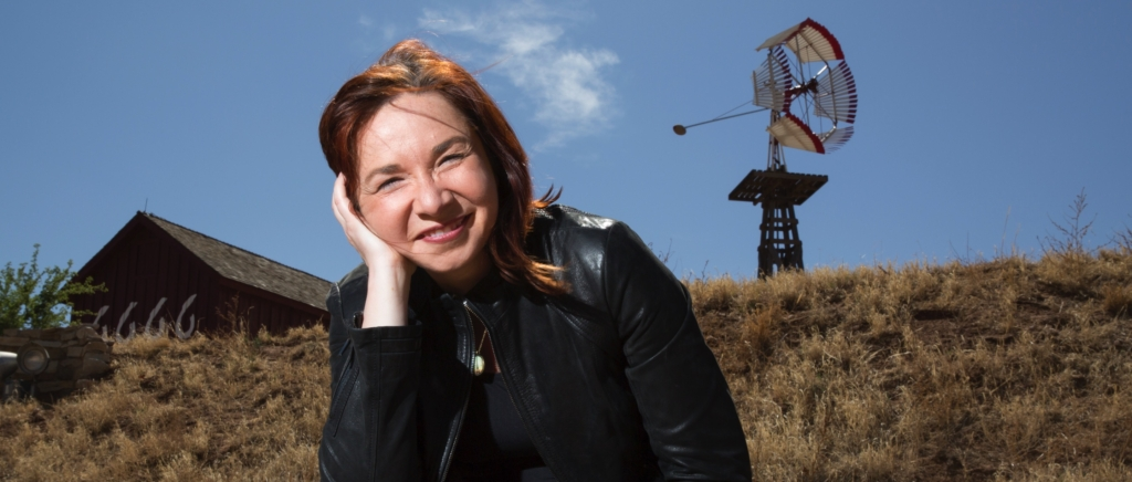 Portrait of Dr. Katharine Hayhoe, atmospheric scientist and professor of political science at Texas Tech University. Photo: Katharine Hayhoe